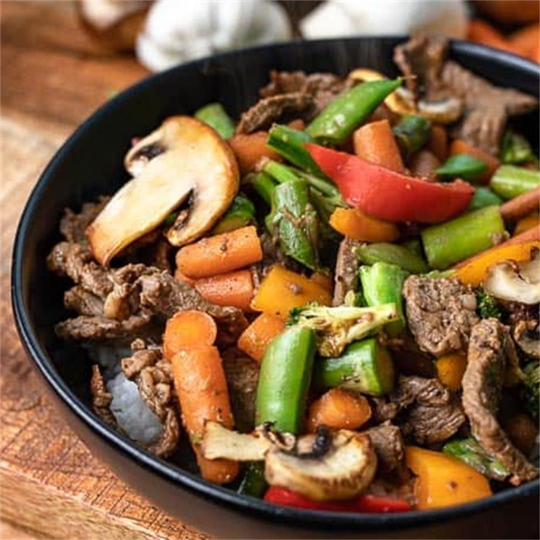 Clean Out Your Refrigerator Stir Fry Recipe