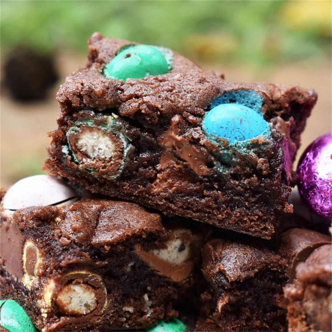 Easter Chocolate Cookie Bars