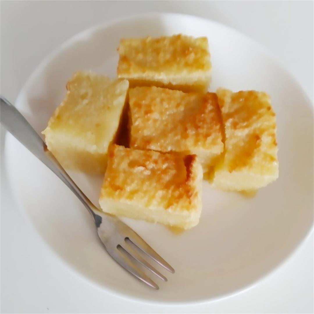 Air fryer Tapioca Cake