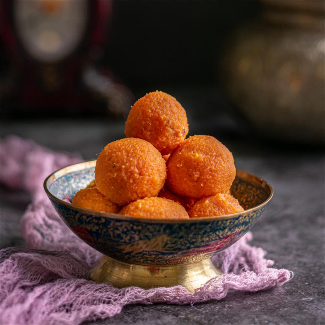 5 Ingredients Sweet Potato Ladoo
