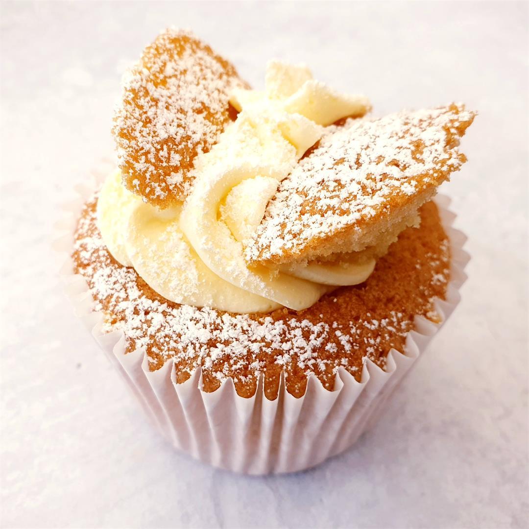 Vanilla Butterfly Fairy Cakes