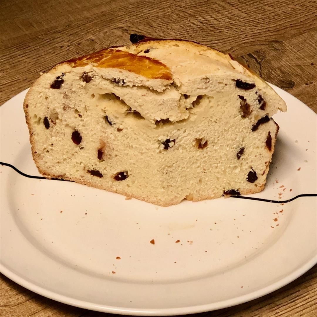 Paska - Slovak Easter bread