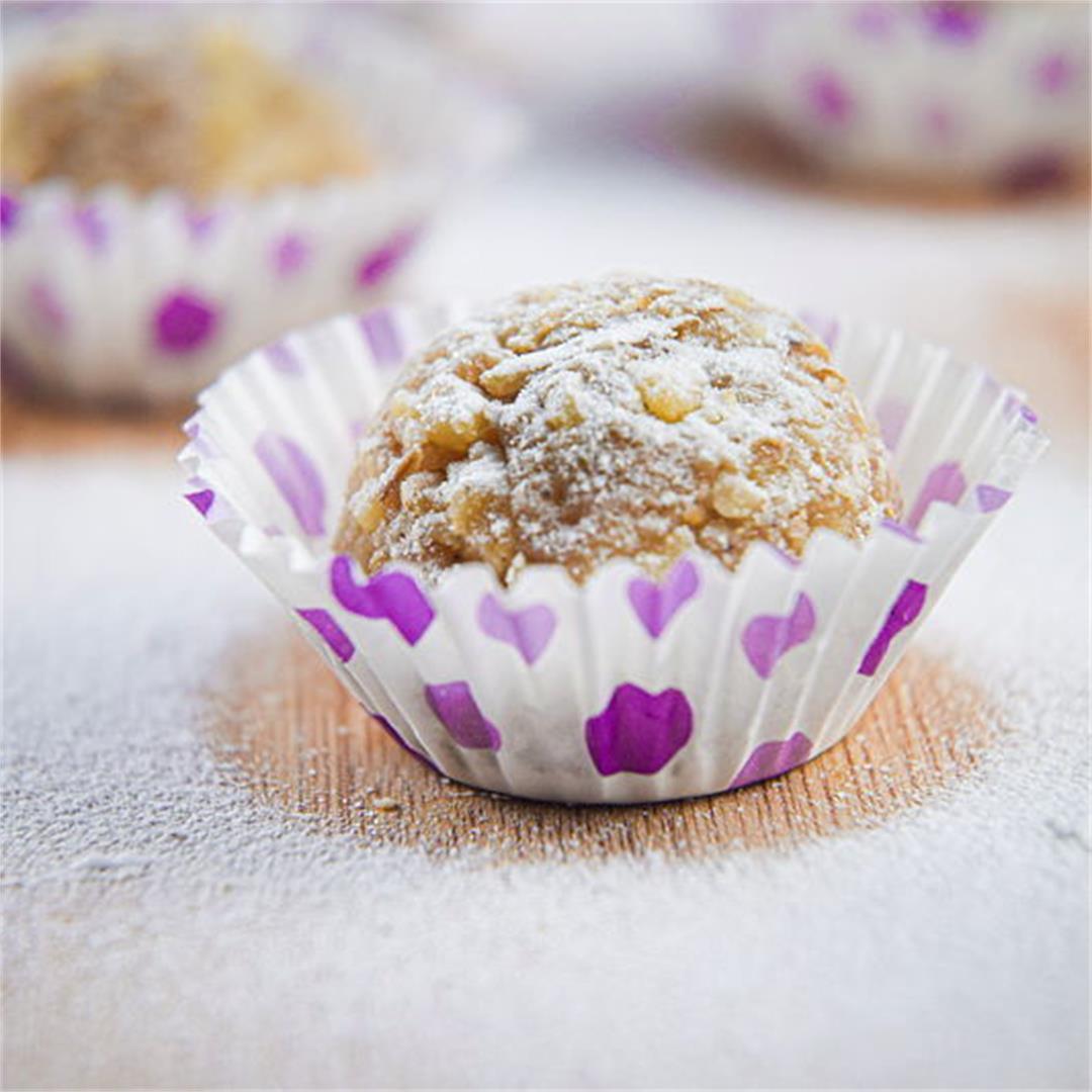 Marzipan Nut Balls