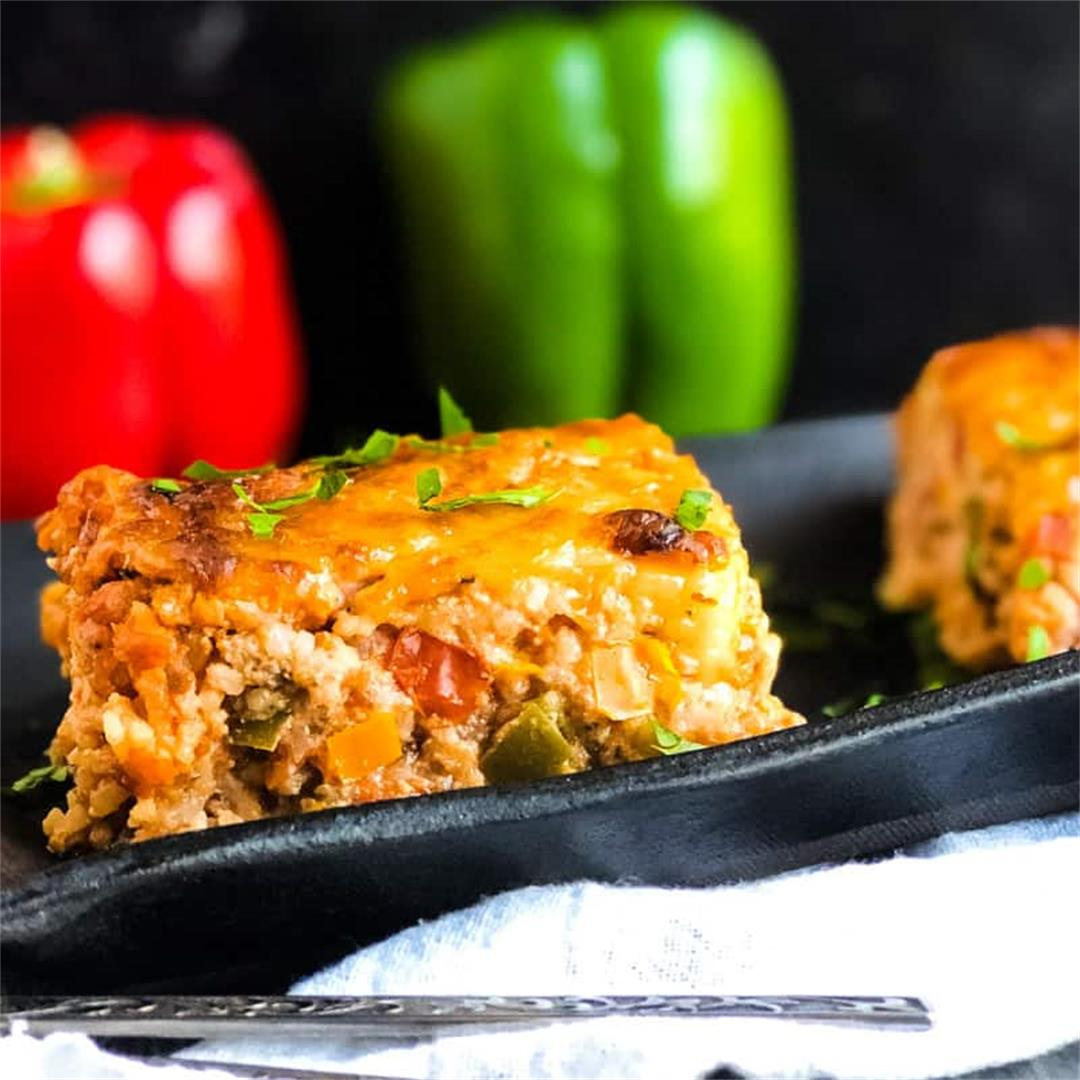 Unstuffed Pepper Casserole