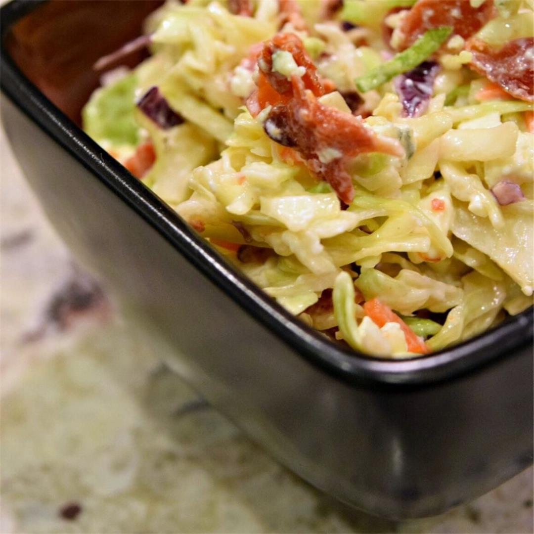 Bacon And Bleu Coleslaw