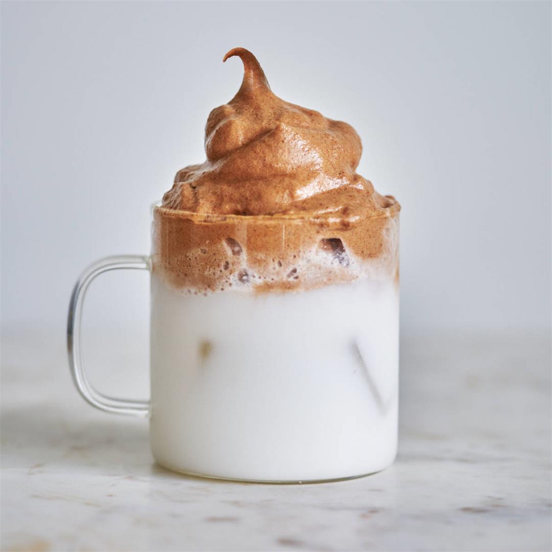 Dalgona Chocolate Milk