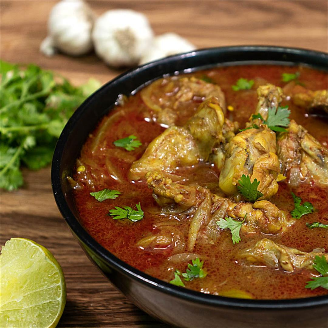 The Authentic Indian Chicken Curry Recipe