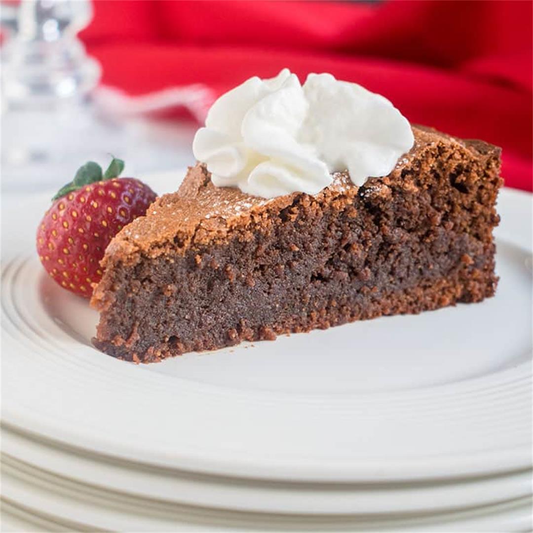Torta Caprese (Flourless Chocolate-Almond Cake)