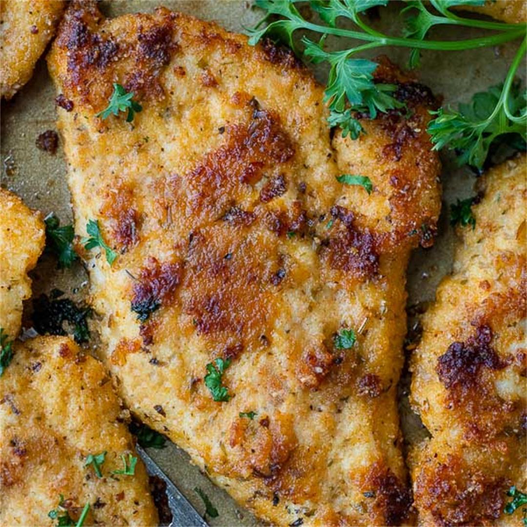 Gluten Free Crispy Baked Chicken