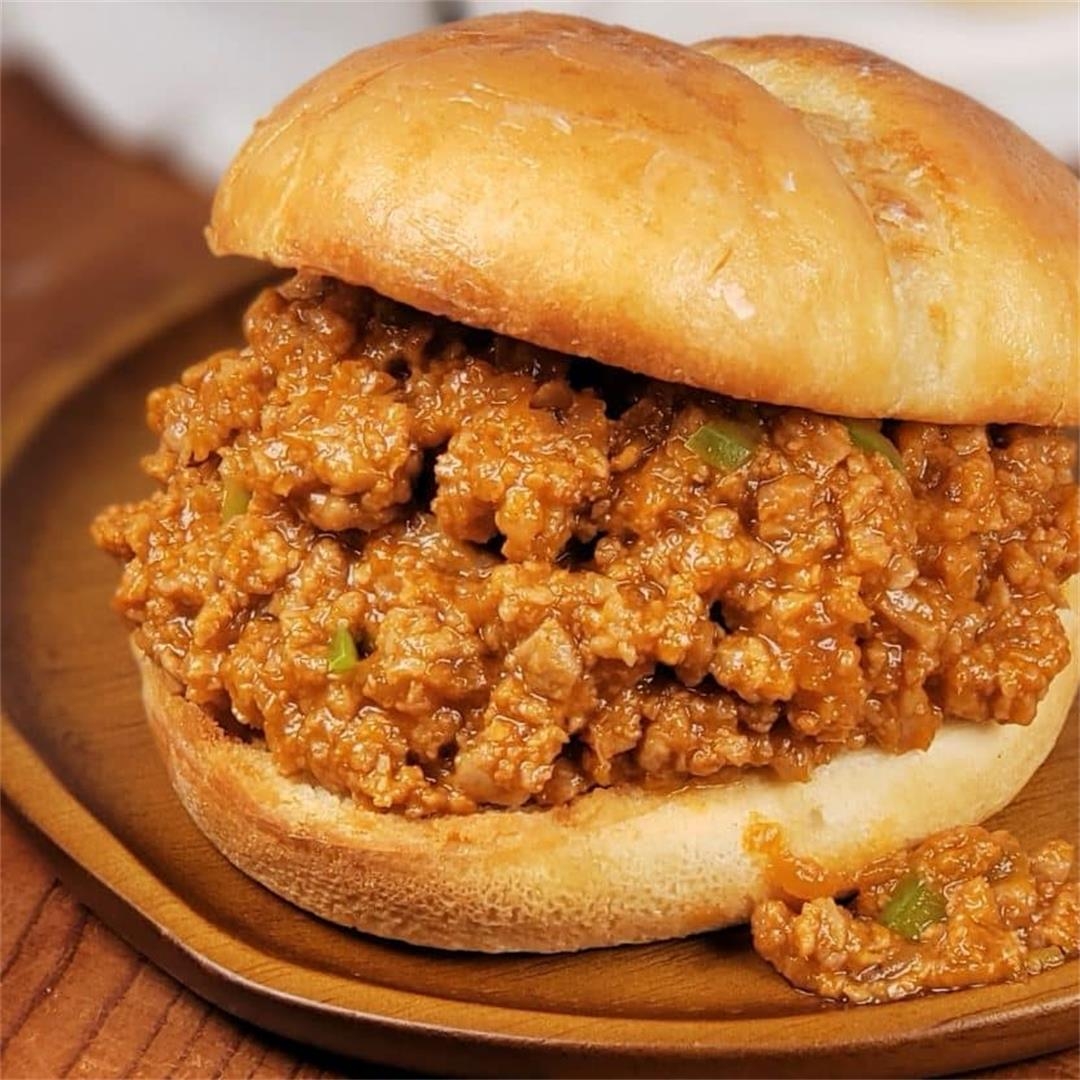 Instant Pot BBQ Ribs Sloppy Joes (Beef or Pork)