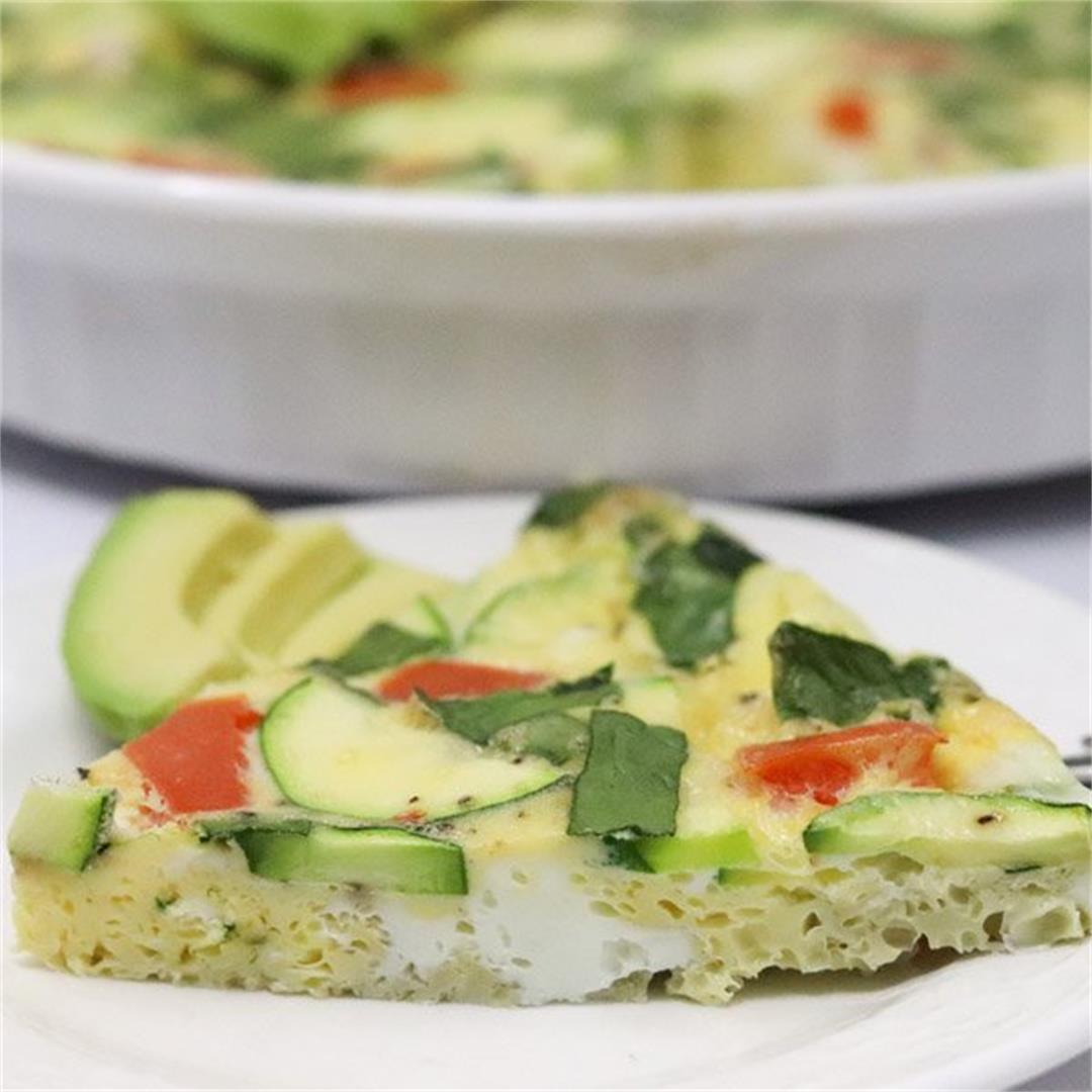 Vegetable Egg Bake