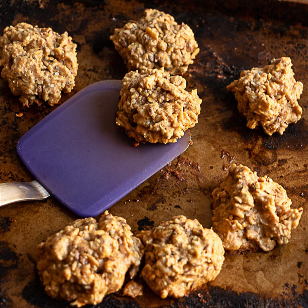 Peanut Butter No-Egg Cookies