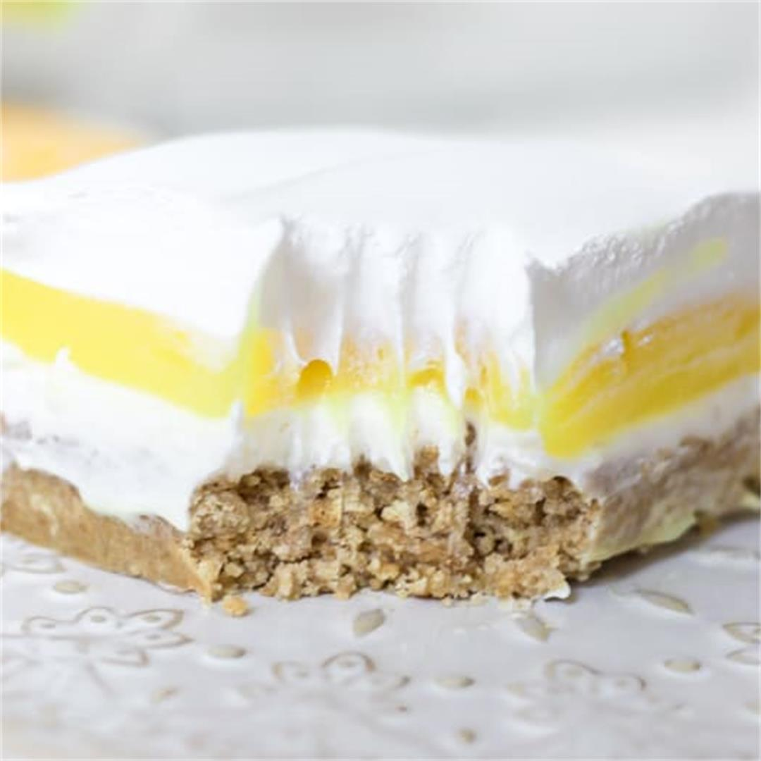 Lemon Lush Dessert