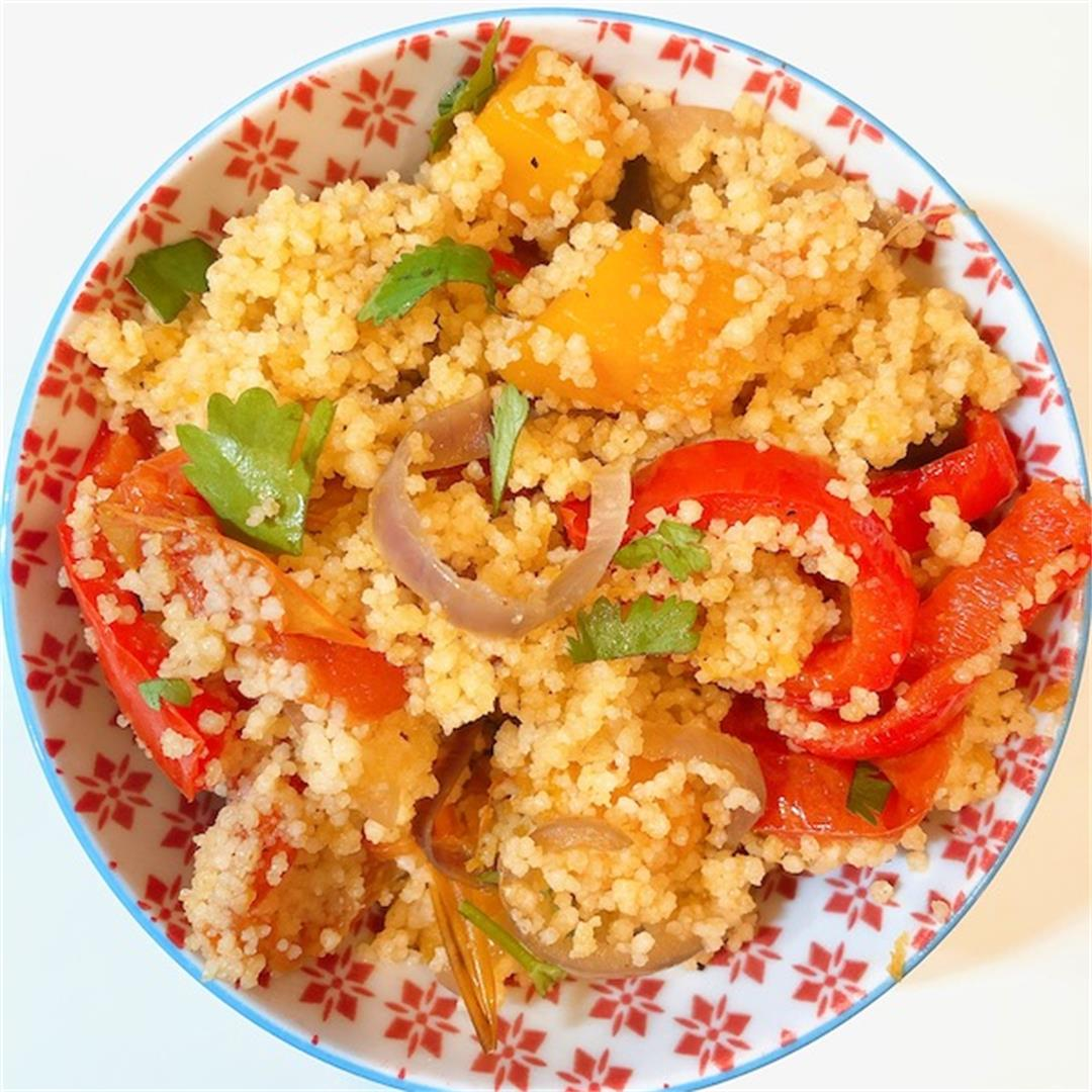 Easy and Delicious Roasted Vegetable Couscous