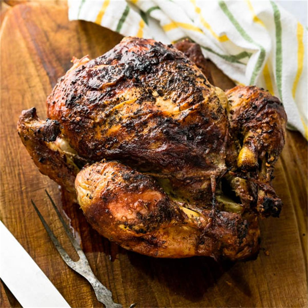 Easy Rotisserie Chicken At Home