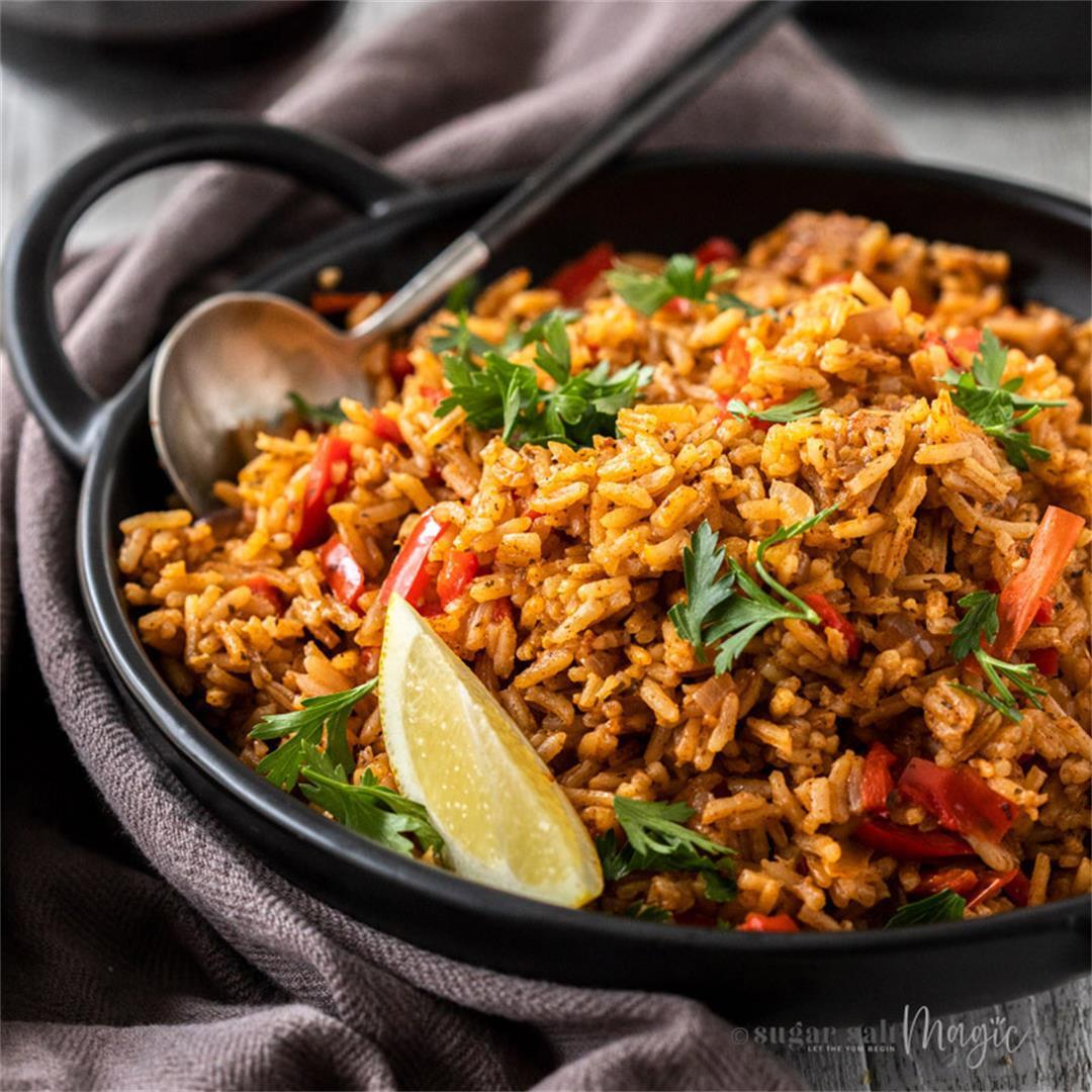 Spanish Red Rice (Arroz Rojo)