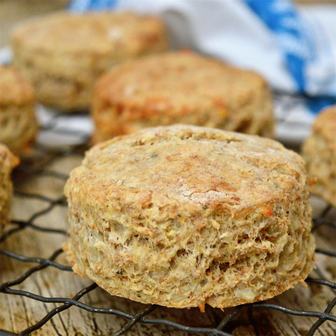 Cheese Scones made with Greek Yoghurt