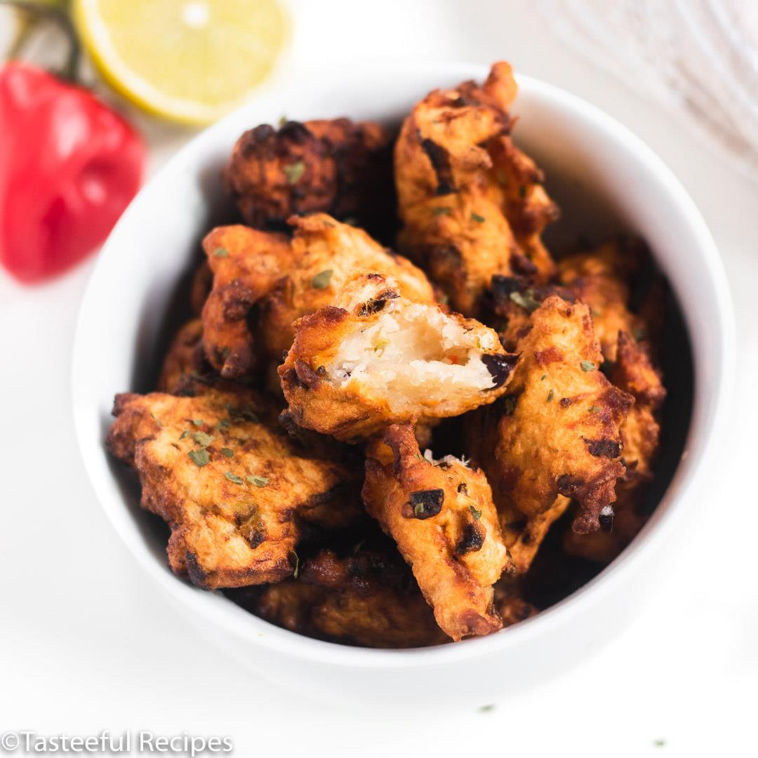 Fried Caribbean Saltfish Fritters(Accras de Morue)