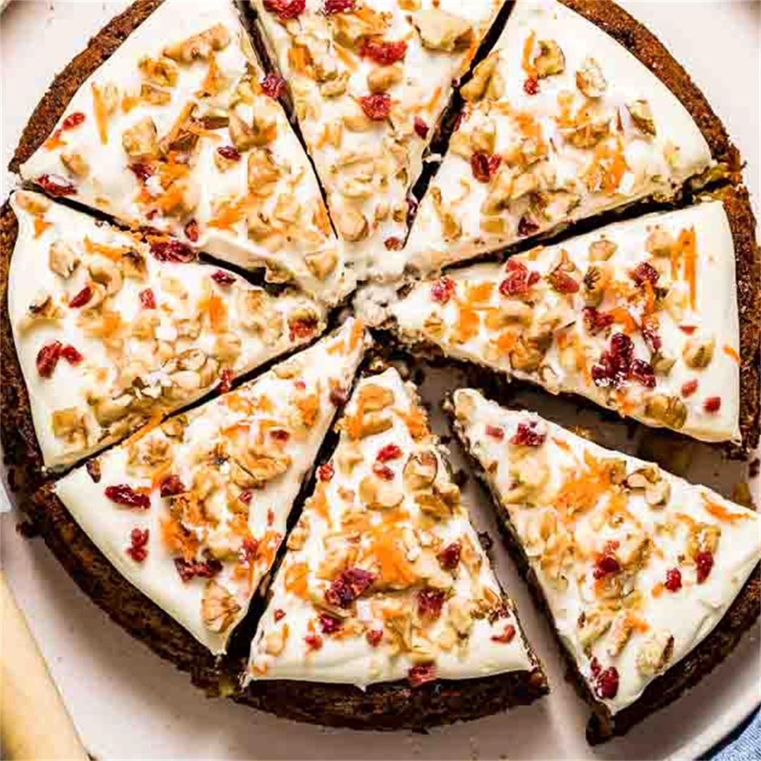 Almond Flour Paleo Carrot Cake