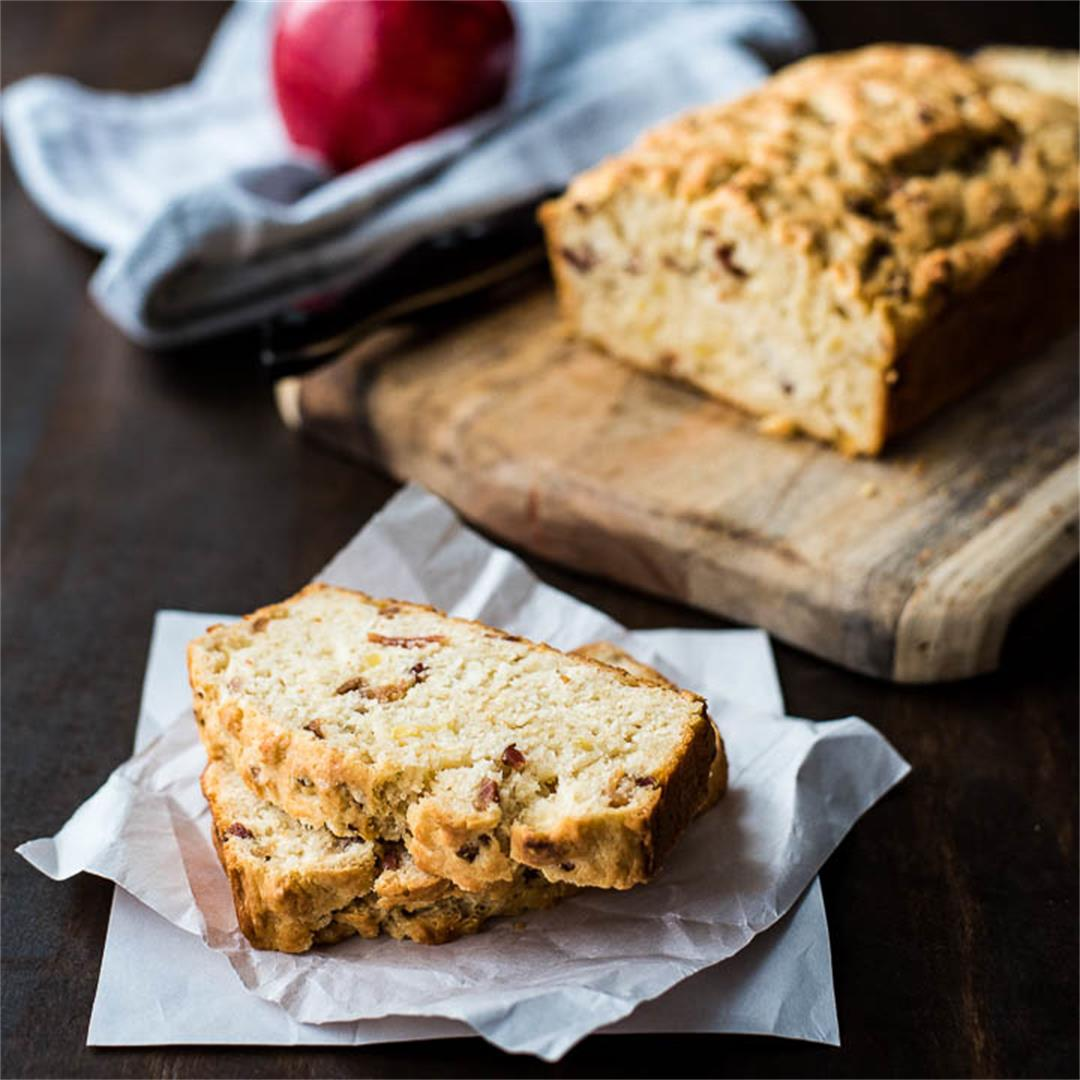 Apple Bacon Beer Bread