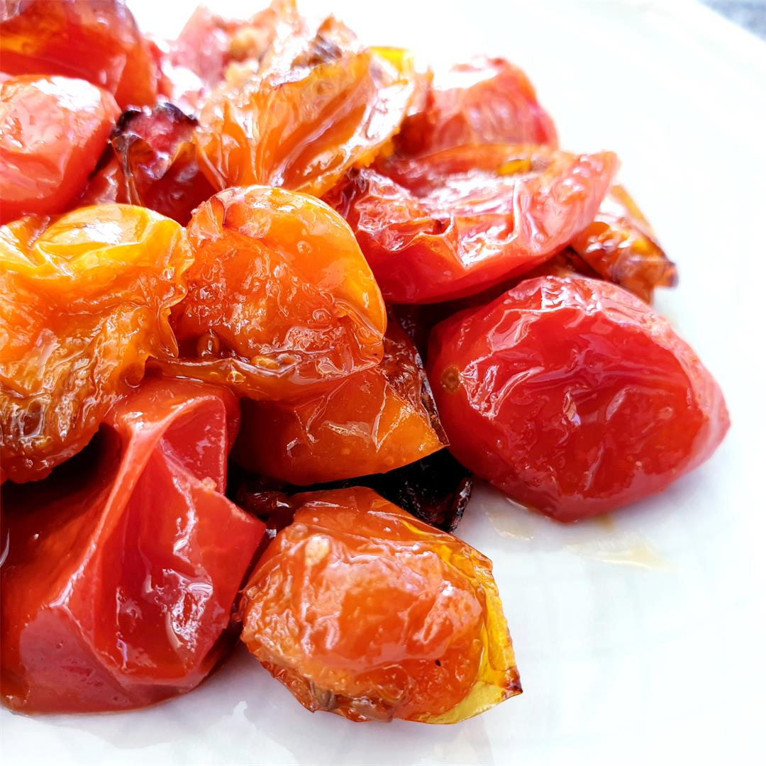 Maple Roasted Cherry Tomatoes