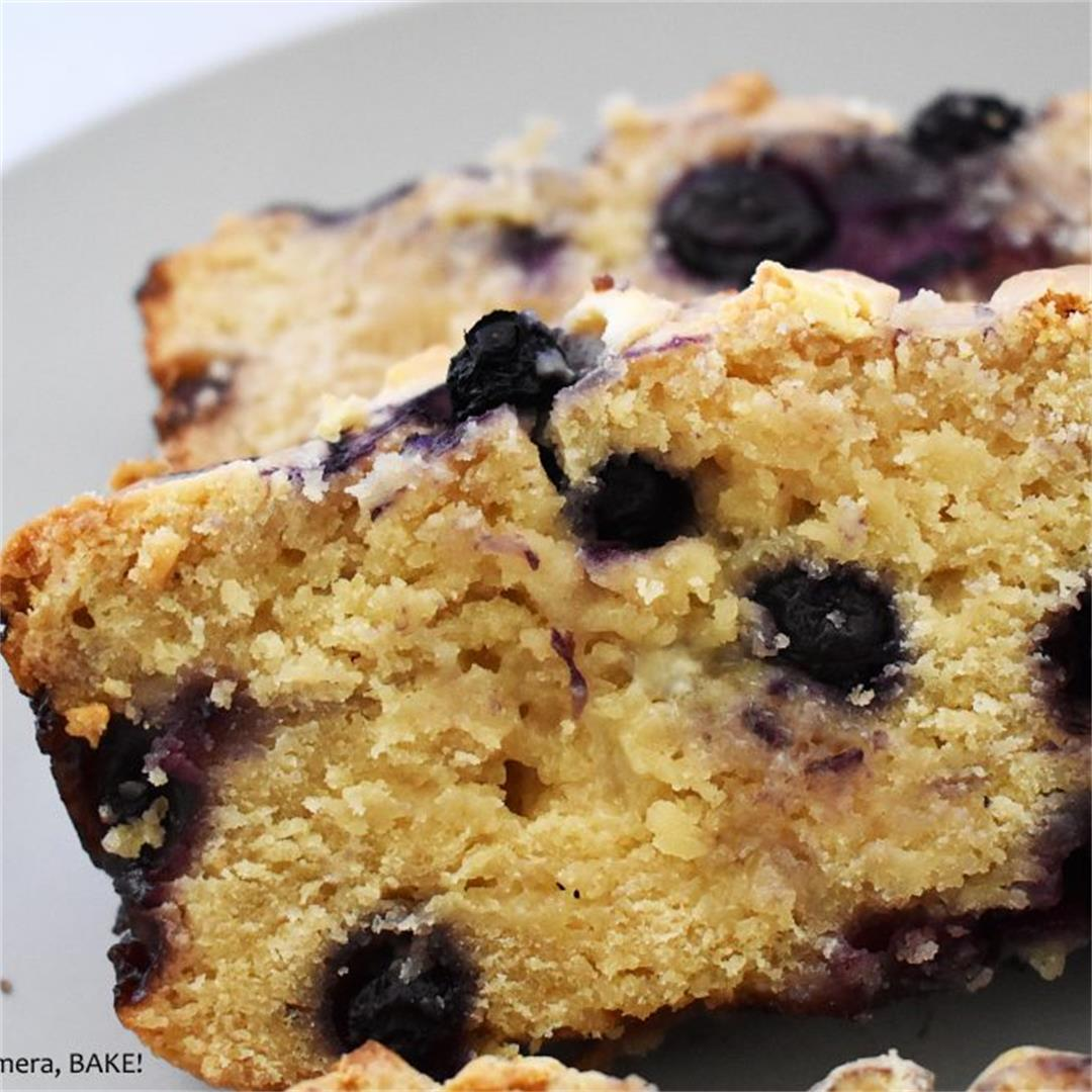 Blueberry and White Chocolate Loaf