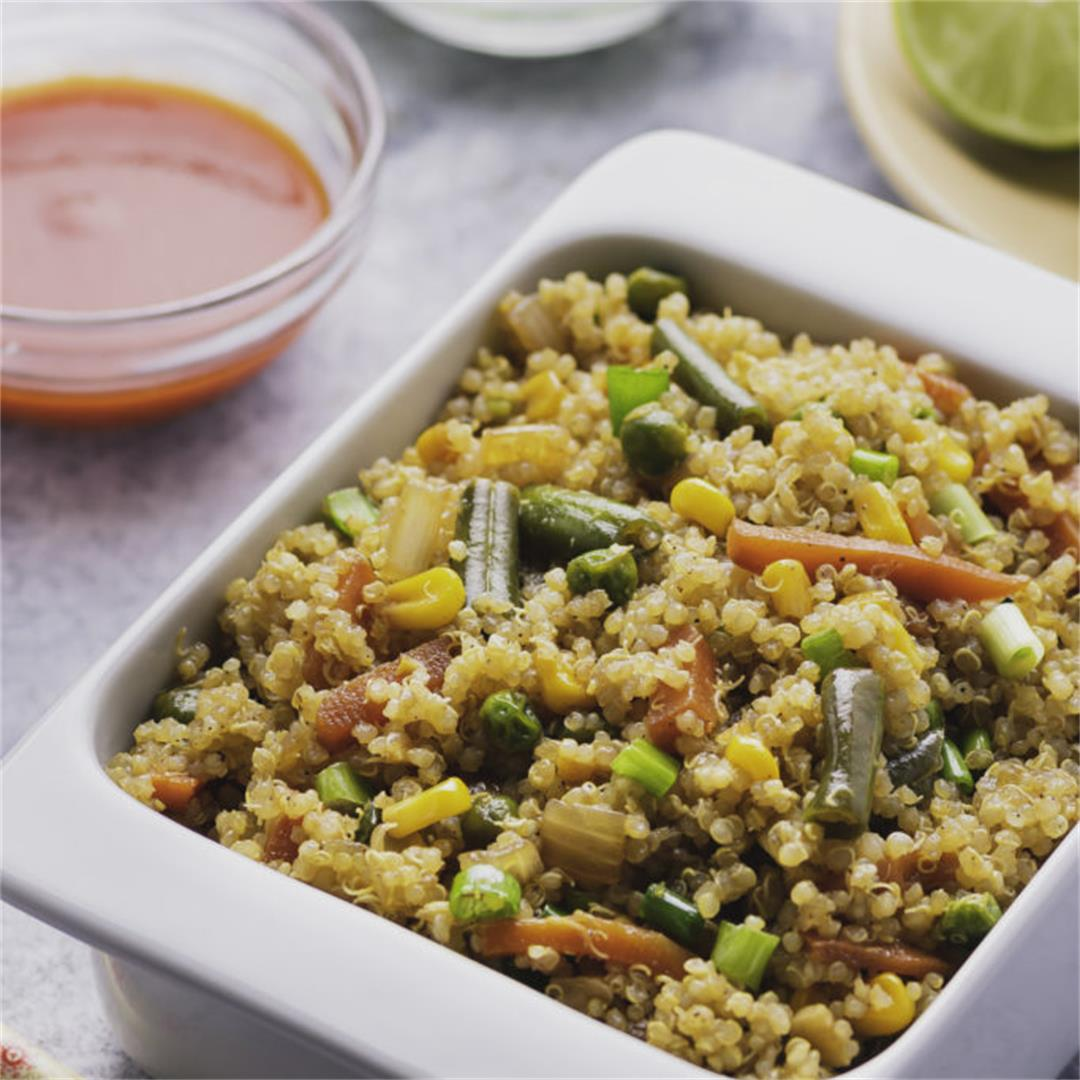 Healthy Quinoa Fried Rice Recipe