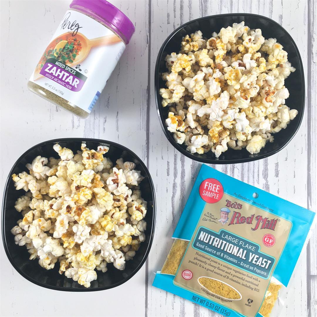 Zahtar Popcorn (Easy Recipe!)