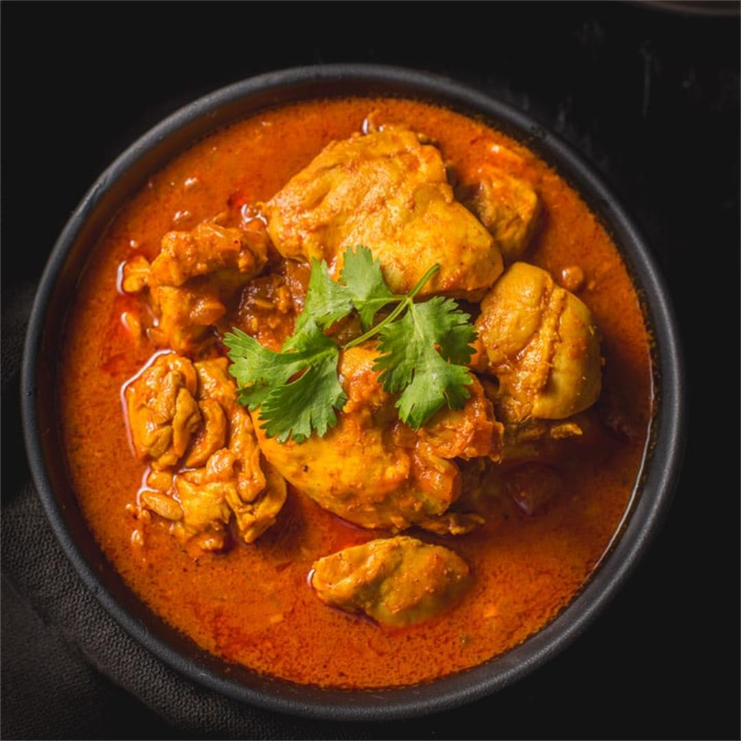 Pressure Cooker Goan Chicken Vindaloo