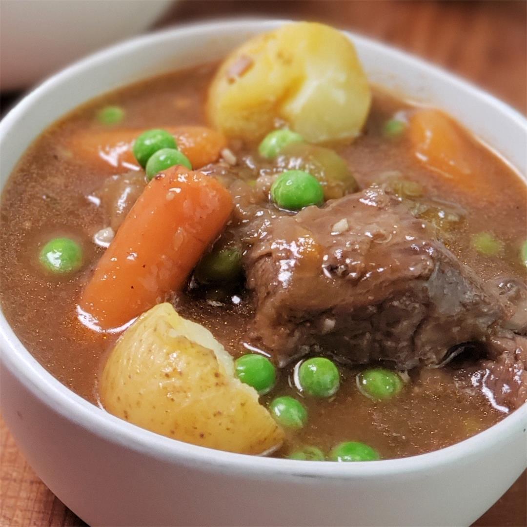 Instant Pot Beef Stew [Recipe + Video]