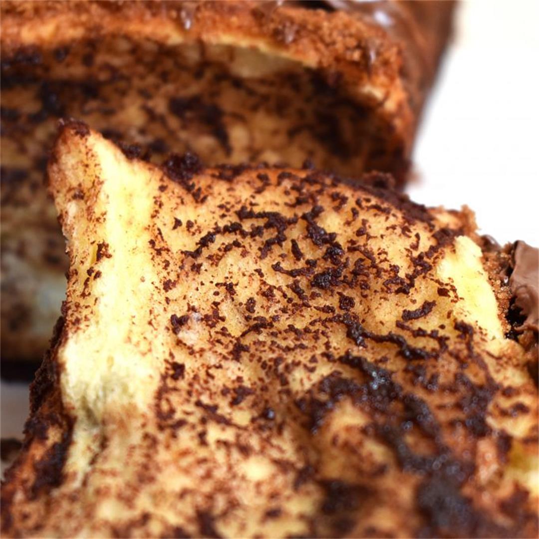 Nutella Pull Apart Bread