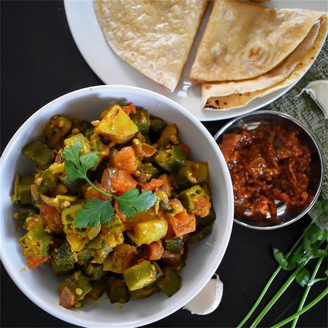 Okra Stir Fry (Bhindi masala)