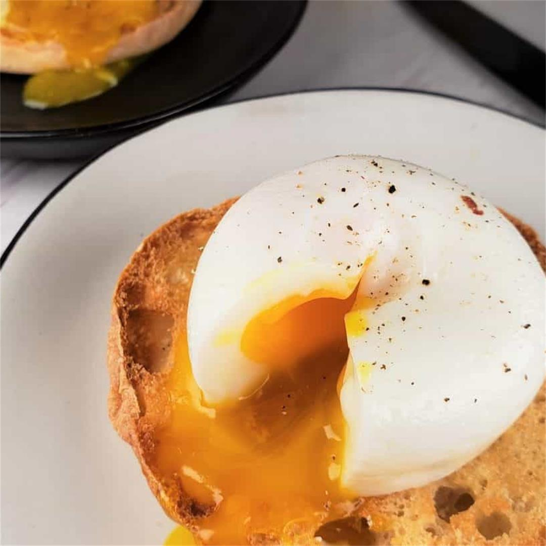 Instant Pot Poached Eggs ~ Healthy and Low Carb/Keto.