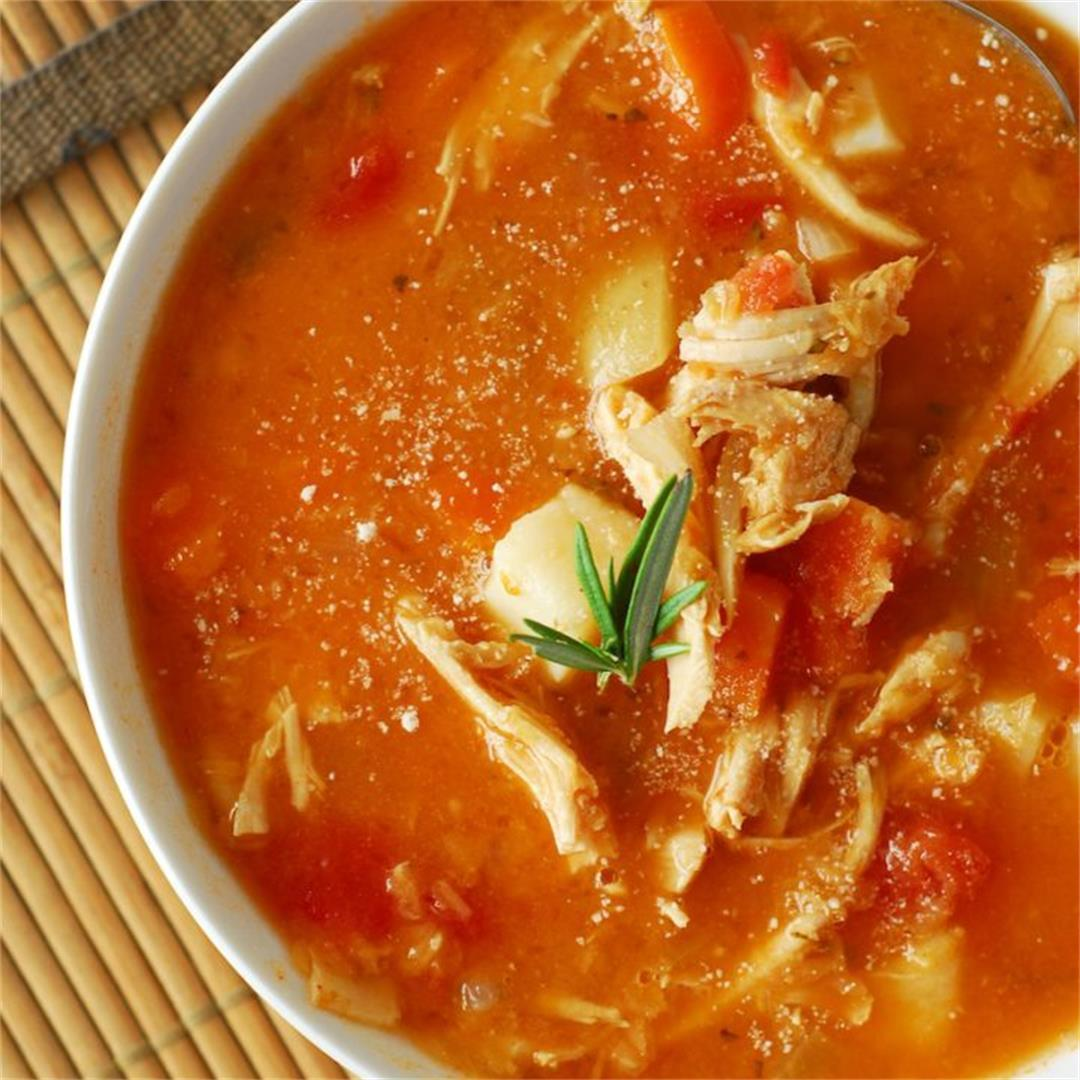 Turkey and Lentil Soup