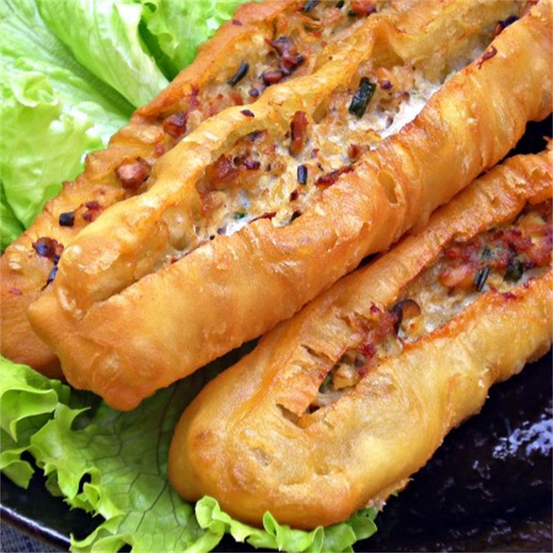 CNY Pot Luck and Pork Stuffed You Tiau (U Char Kuey)