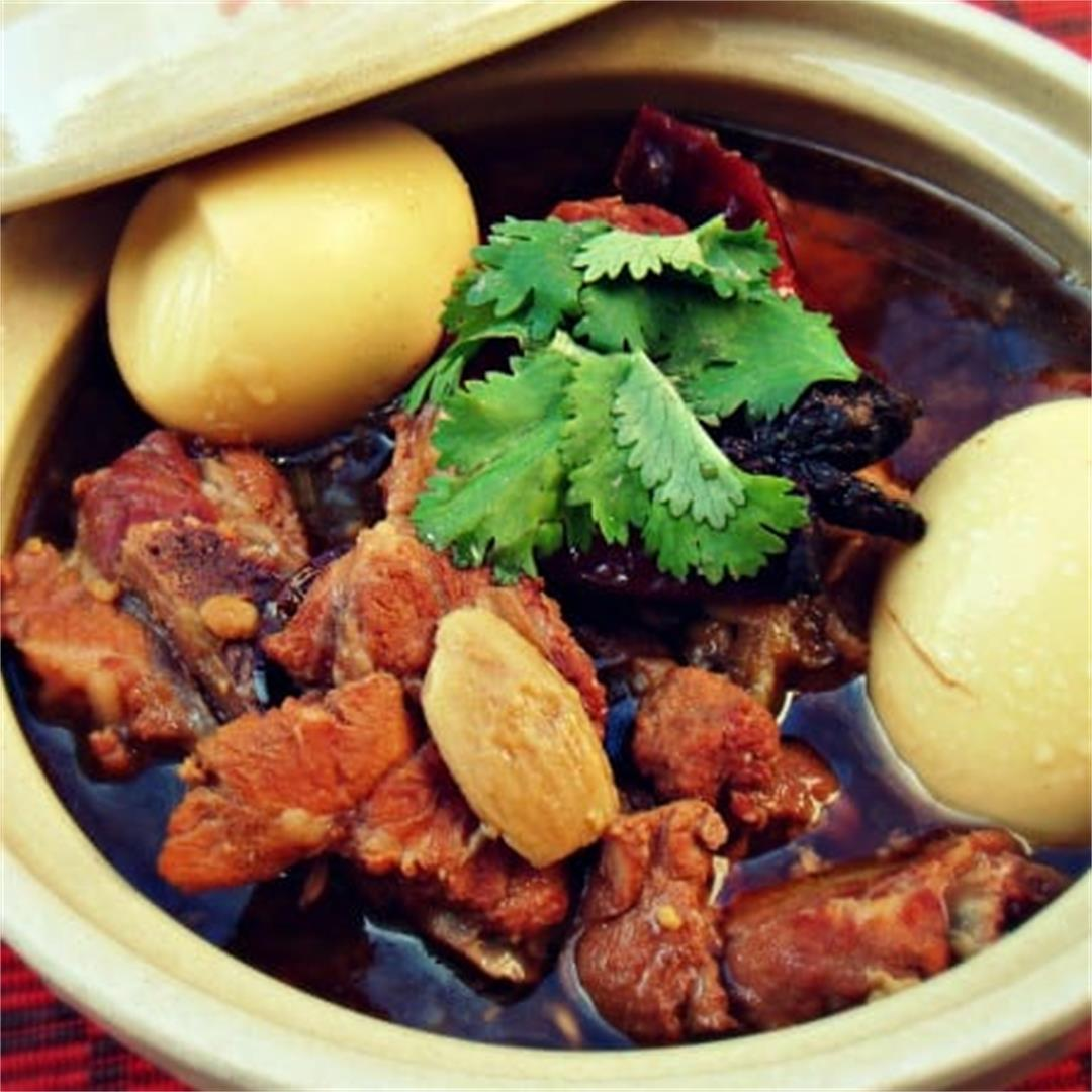 Still out of it & Ribs and Bean Paste Stew