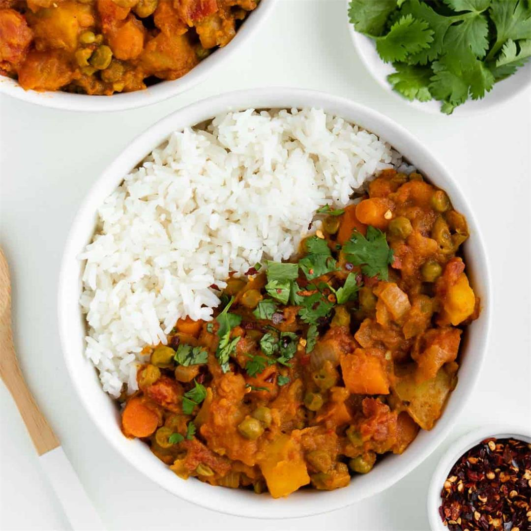 Vegan Potato Curry