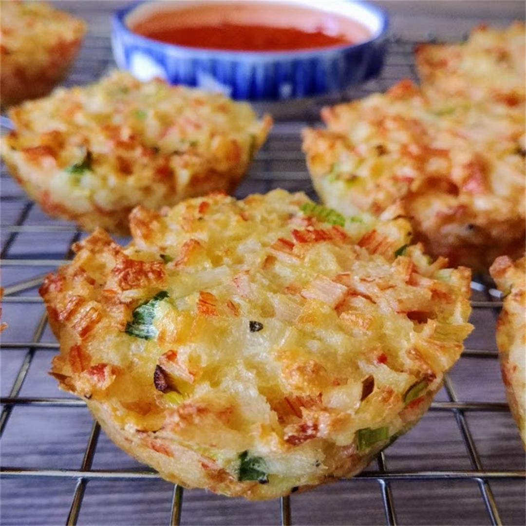 Imitation Crab Cakes with an Asian Twist