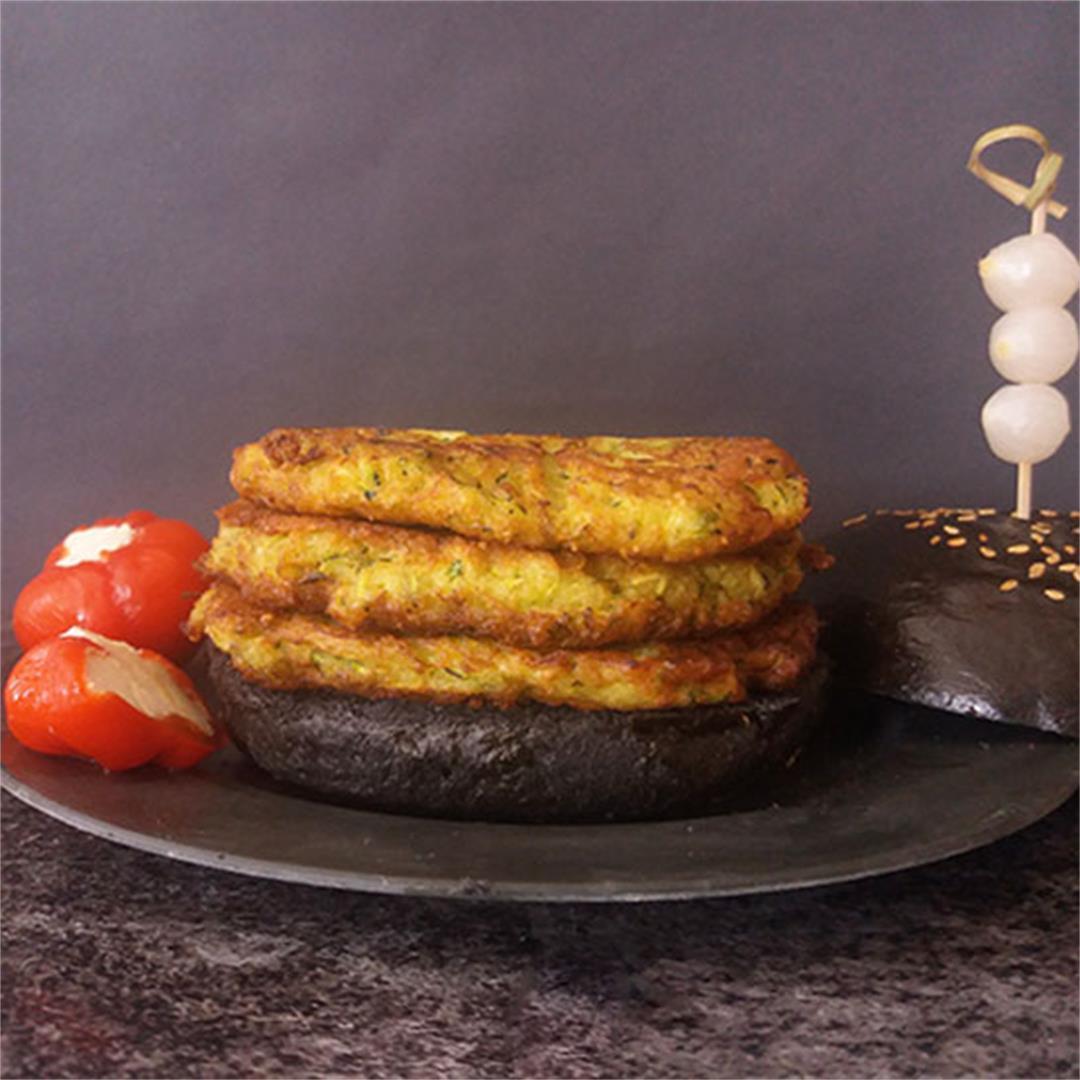 Shredded Zucchini Patties