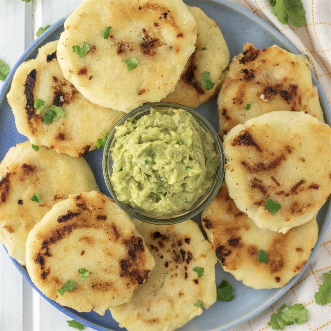 Homemade Salvadoran Pupusas
