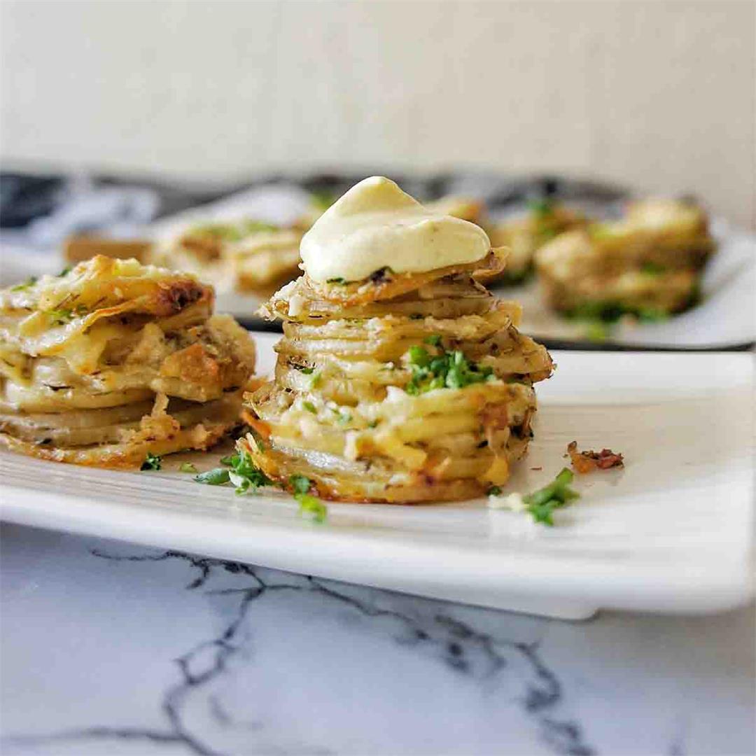 Muffin Tin Potatoes