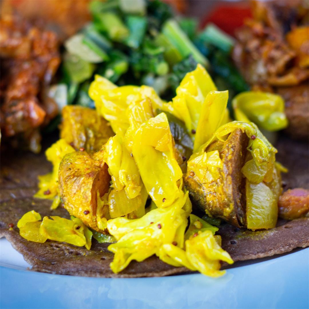 Atkilt Wot (Ethiopian Sautéed Vegetables)