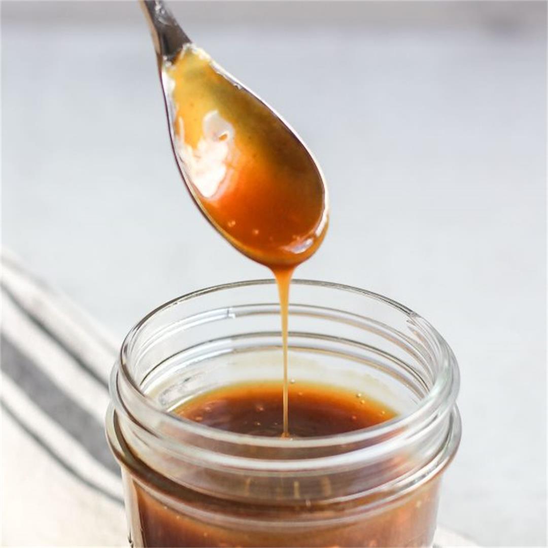 Easy Homemade Teriyaki Sauce (soy-free, gluten-free)