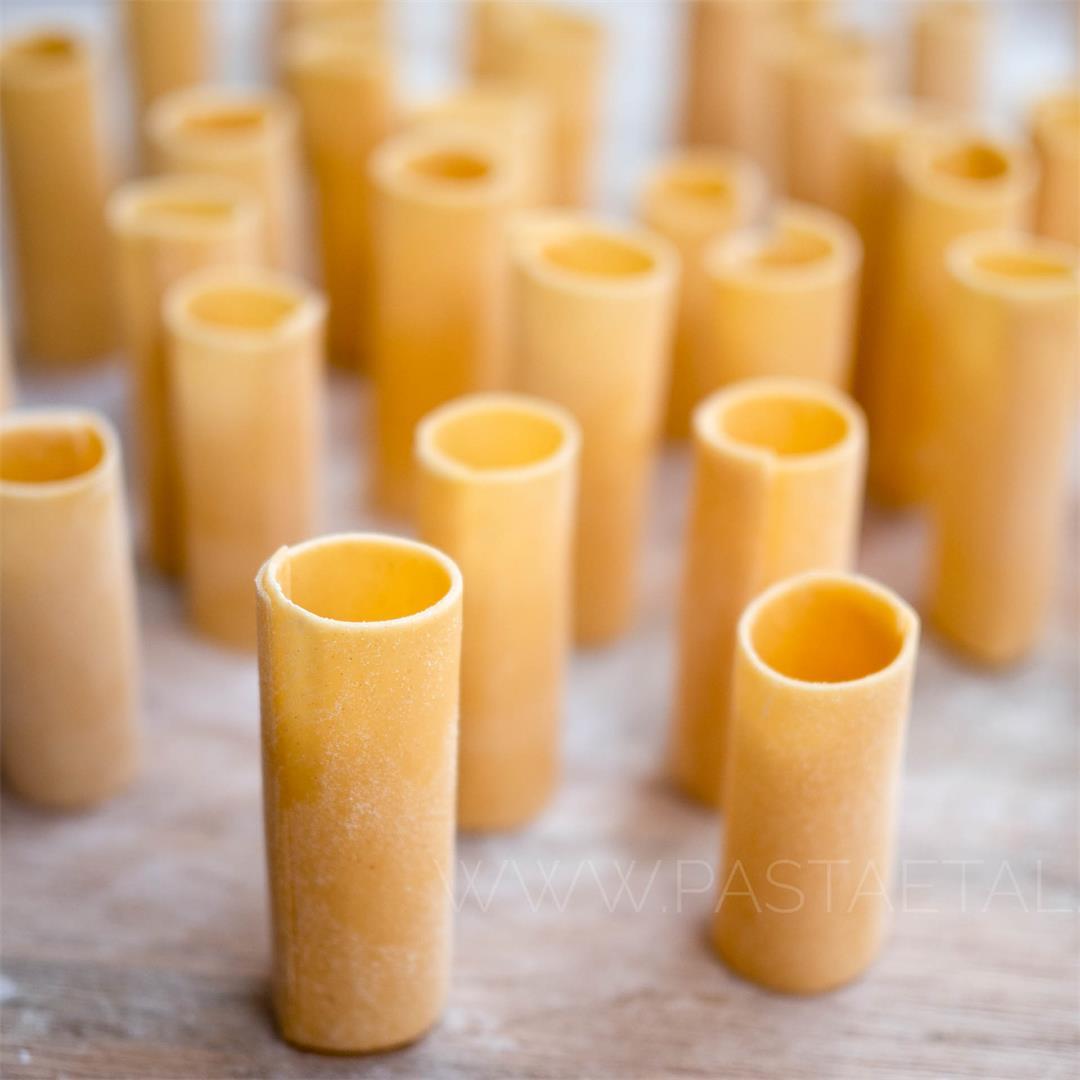 Handmade Paccheri