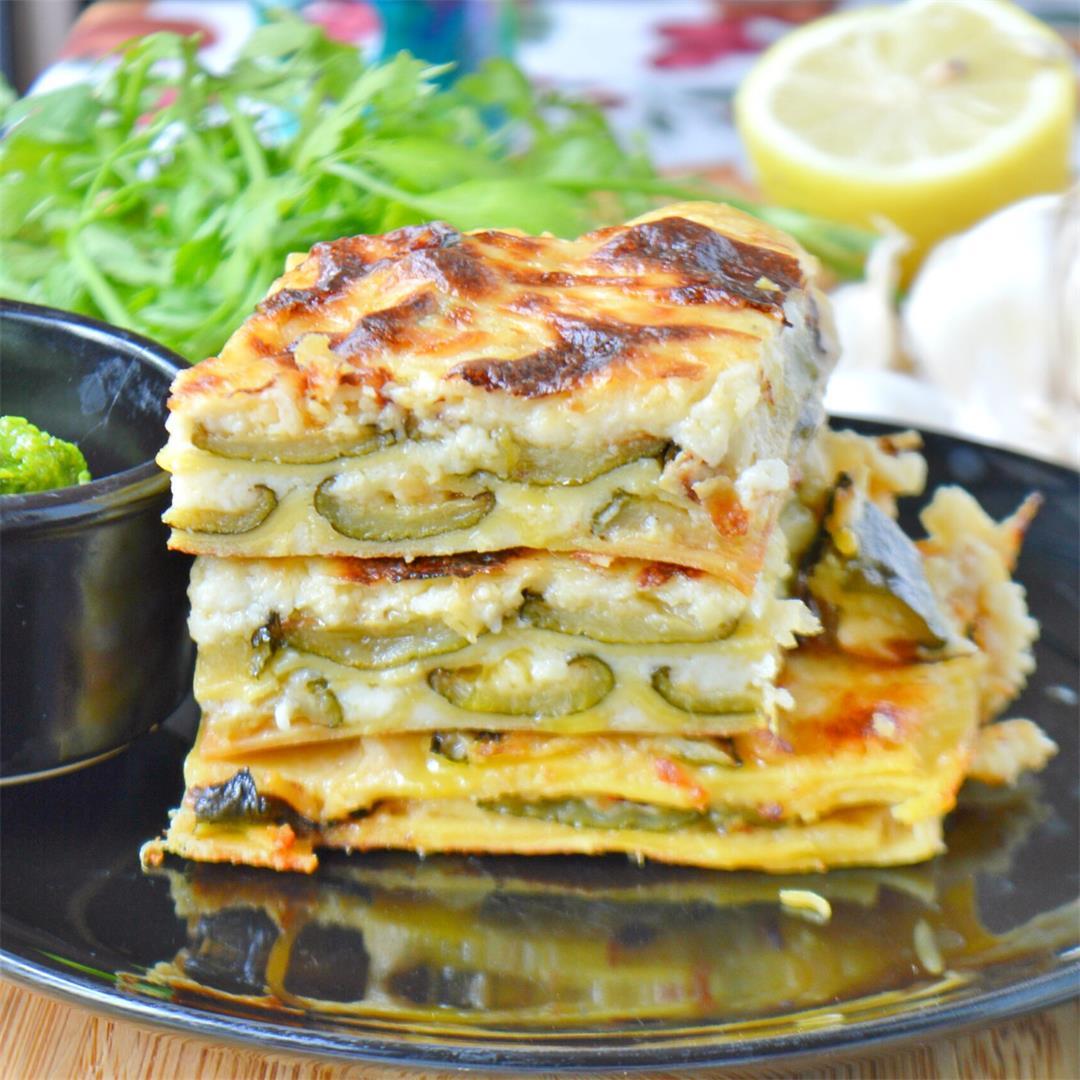 Zucchini Lasagna — Tasty Food for Busy MumsVegetarian Recipes