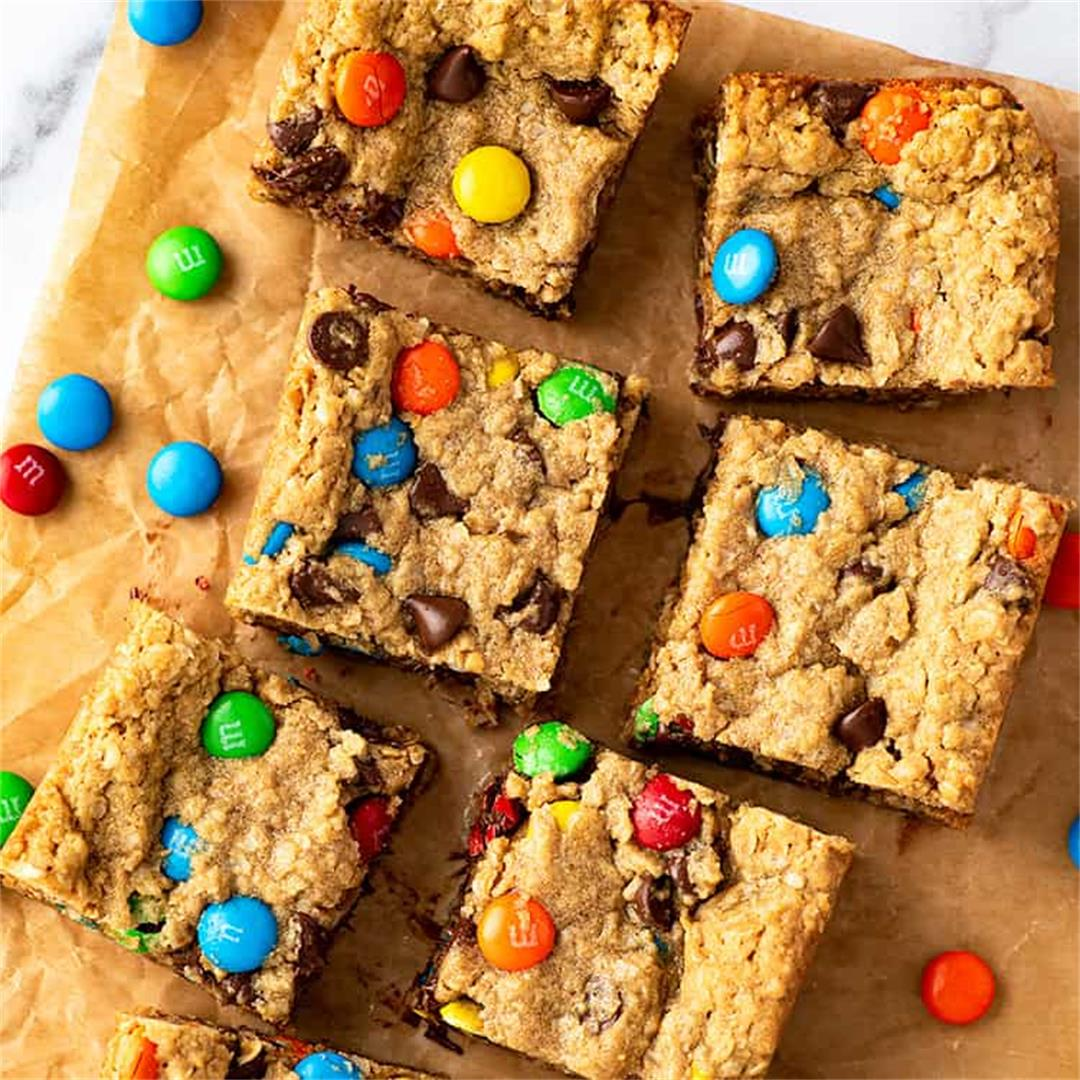 Small-batch Monster Cookie Bars