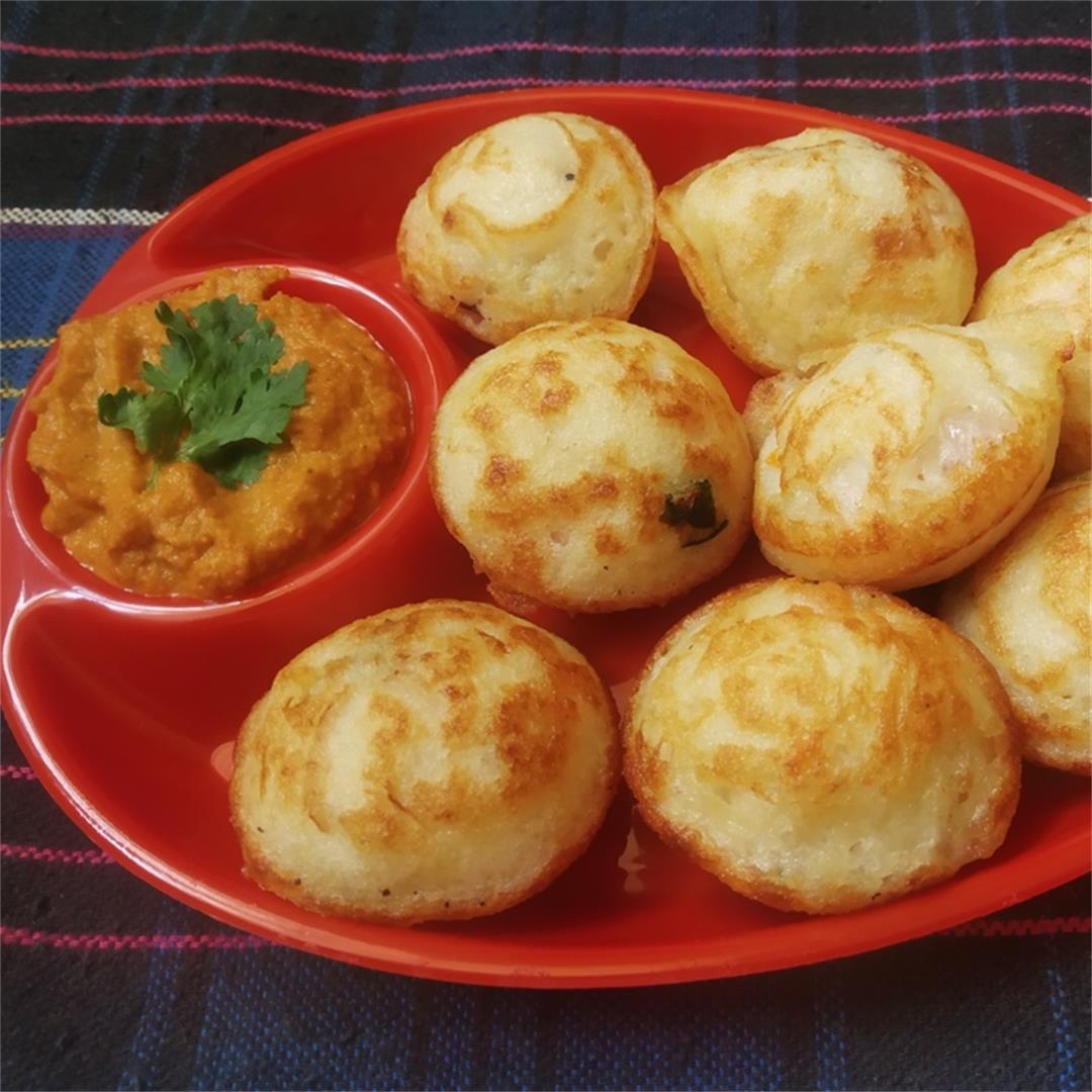 Vegetable Paniyaram recipe| Kuzhi paniyaram recipe