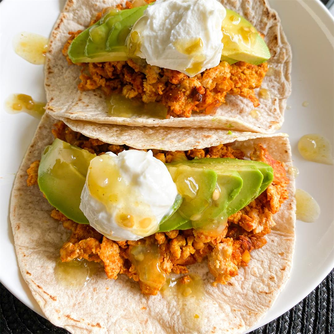 10 Minute Turkey Tacos