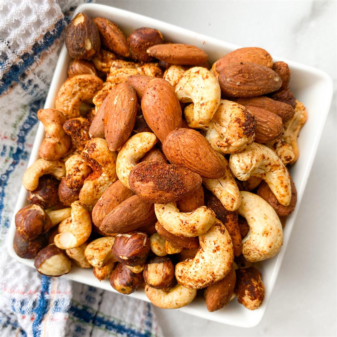 Smoky Spiced Nuts