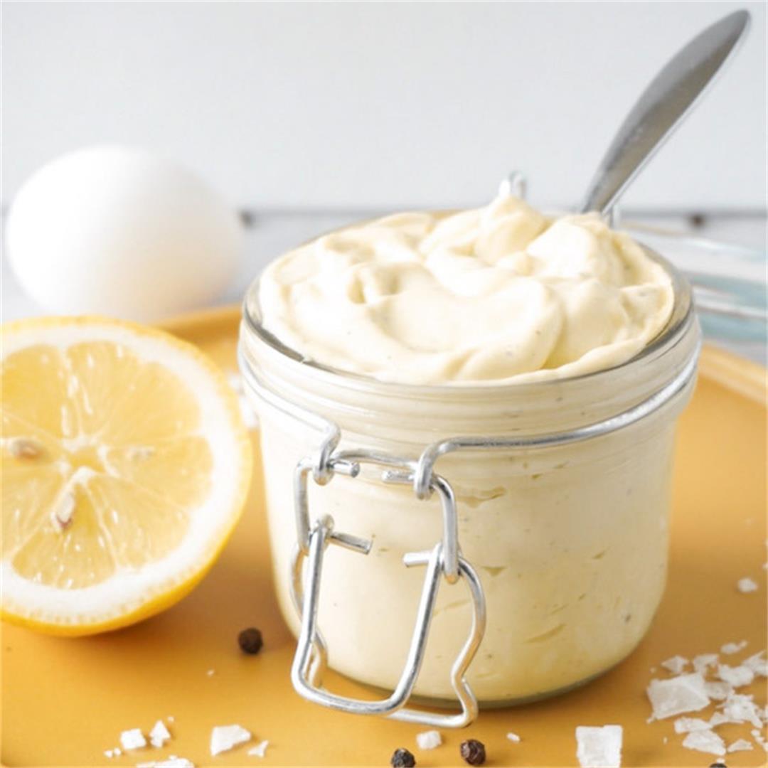Instant keto mayonnaise
